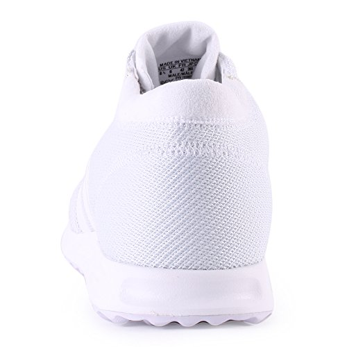 Adidas Los Angeles, Unisexe Chaussures De Course Blanches Adultes