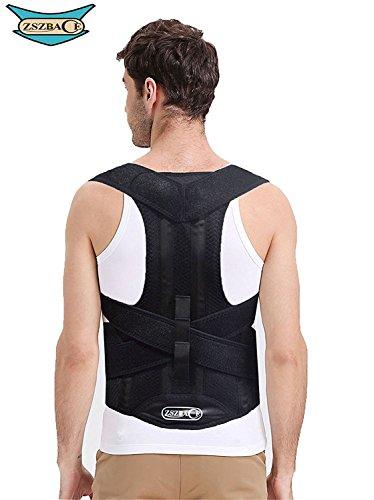 Dolores de Espalda Brace Support Belt, Soporte de la Espalda y Lumbar, Unisexo (L)