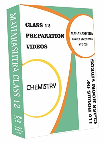 AVNS INDIA Maharashtra Higher Secondary Class 12 - Chemistry Full Syllabus Teaching Video (DVD)