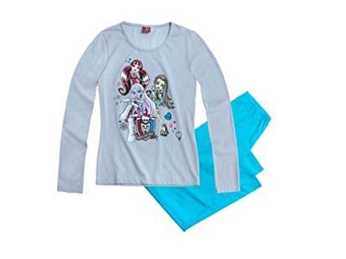 Monster High Schlafanzug (128, blau)