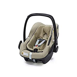 Maxi-Cosi Pebble Plus Baby Car Seat Group 0+, ISOFIX Car Seat, i-Size, 0-12 m, 0-13 kg, 45-75 cm, Sand   8