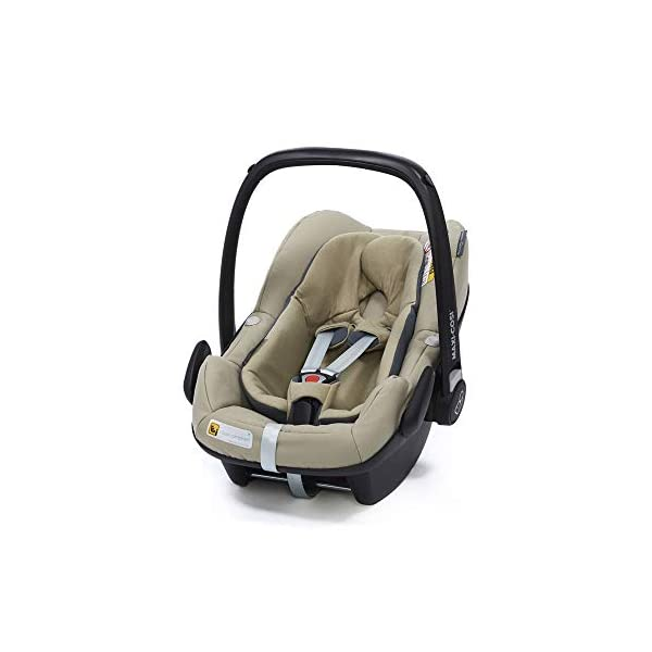 Maxi-Cosi Pebble Plus Baby Car Seat Group 0+, ISOFIX Car Seat, i-Size, 0-12 m, 0-13 kg, 45-75 cm, Sand Maxi-Cosi Baby car seat, suitable from birth to approximate 1 year (0-13 kg, 45-75 cm) Fits with compatible Maxi-Cosi base unit for ISOFIX installation i-Size for enhanced safety and optimal protection against side impacts 1