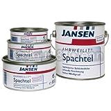 JANSEN Ahrweilit Spachtel 800g hochwertiger Malerspachtel f. Holz Metall Altputz