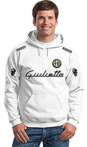BENVESTI Sweatshirt Hoodie Men Alfa Romeo Giulietta Racing Driver Personalized Customized
