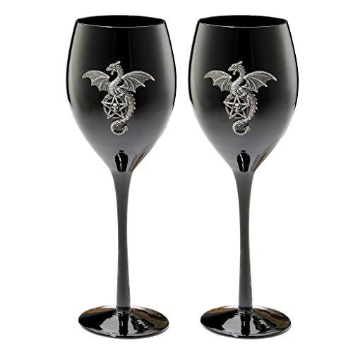 Design Toscano wu08976Viverna Calice in stile gotico, colore:
