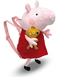 Peppa Pig - Peluche mochila (Bandai 84267)