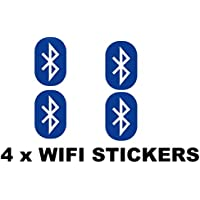 4 x WIFI Aufkleber Sets Pub Bar Cafe Bistro Shop