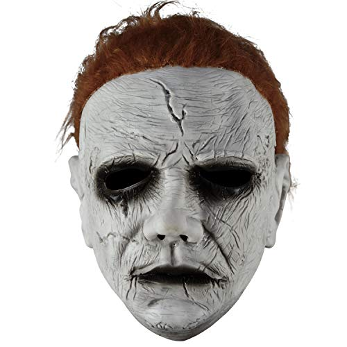 Paar Scary Kostüm - HOMELEX Halloween 2018 Michael Myers Costume Mask (Mask1)