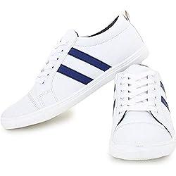 T-Rock Men's Sneakers Blue Canvas 8