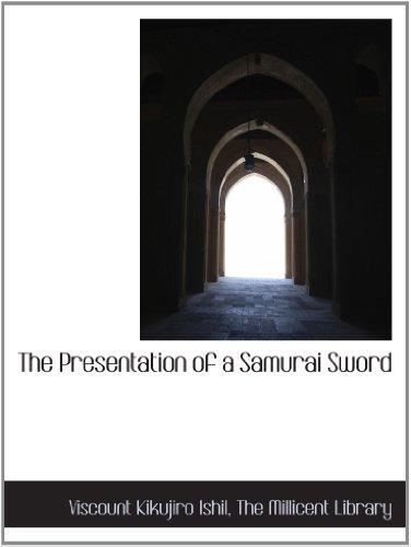 The Presentation of a Samurai Sword