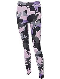 cb3f1b3656d6 Femme Leggings de Sport,Camouflage Imprimé Yoga Workout Gym Fitness Jogging  Athletic Pants Bringbring