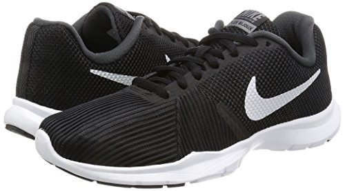 Nike–Felpa con cappuccio ad Hybrid FL po Hoody Black/White-Anthracite