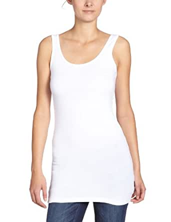 ONLY Damen Top Onllive Love Long Tank Top Noos-15060061, Weiß (White), XS