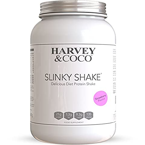 Harvey & Coco Weight Loss Support Protein Shakes For Men & Women, Strawberry