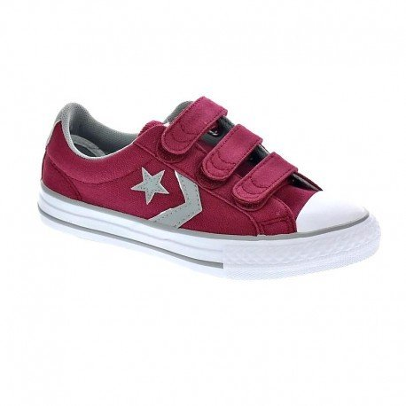 basket-color-rouge-marca-converse-modelo-basket-converse-chuck-taylor-star-player-3v-ox-rouge