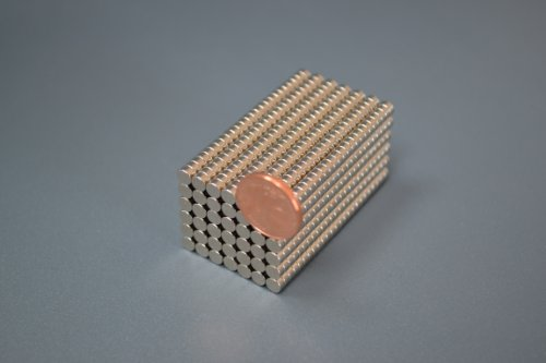 100 Neodym-Supermagnete 4 x 2 mm (4 Stück Magnet)
