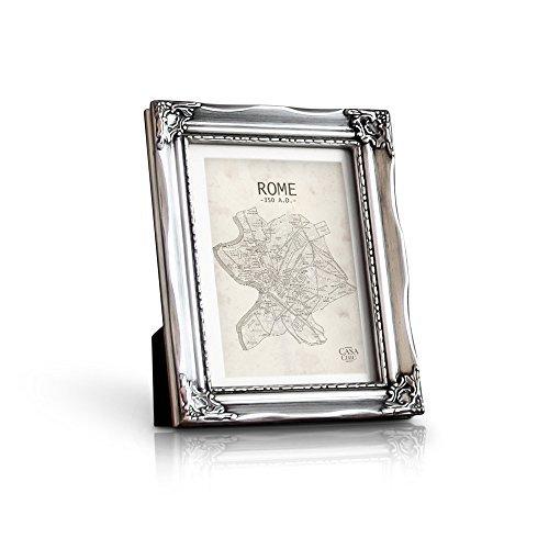 Marco 13 x 18 cm - Marco Barroco - Frente de Vidrio - Paspartú para Foto 10 x 15 cm Incluido -...
