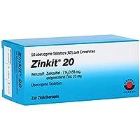 ZINKIT 20 überzogene Tabletten 50 St preisvergleich bei billige-tabletten.eu