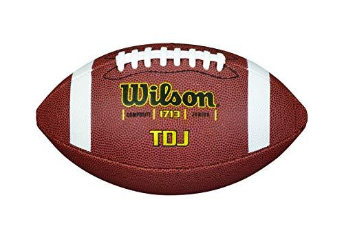 Wilson Unisex-Adult NFL JET BLACK OFFICIAL SIZE FB American Football