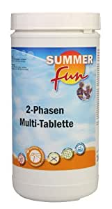 Summer Fun 502010708 2 Phasen Multitabletten, 1 kg