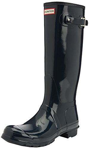 Hunter Original Tall, Bottes femme Bleu(Navy)