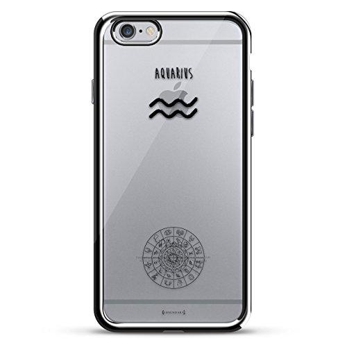Luxuriös, kreativ, designorientiert. Schutzhülle für iPhone 6/6S, silberfarben