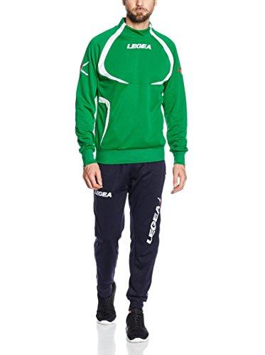 LEGEA Tornado Sportswear Set Grün/Dunkelblau