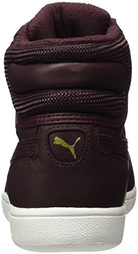 Puma Damen Vikky Mid Winter Gtx High-Top Rot (Winetasting-Winetasting 01)
