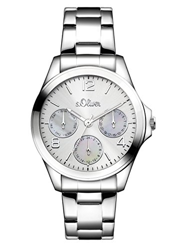 s.Oliver Time Damen-Armbanduhr SO-3301-MM