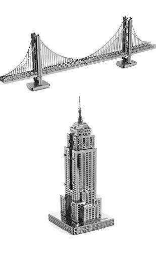 metallic-nano-puzzle-bundle-the-golden-gate-bridge-empire-state-building