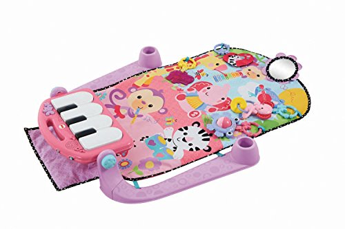 Image of Fisher-Price Discover 'n Grow Kick & Play Piano Gym (Pink)