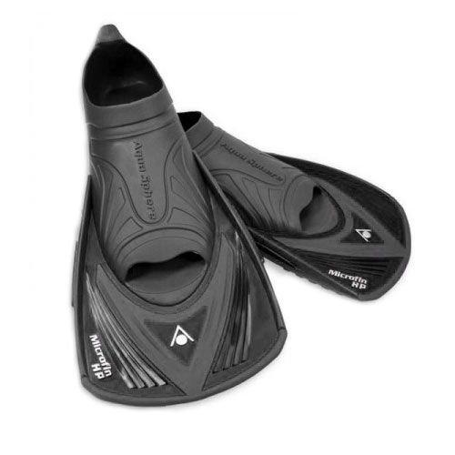 Aqua Sphere Micro HP - Aletas de entrenamiento para natación, color azul, talla Size 38 - 39