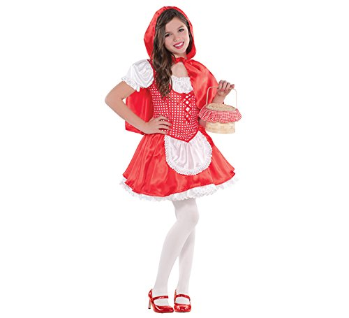 Disfraz-de-Caperucita-Roja-para-nias