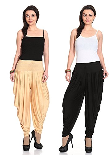 Chamstudio Dhoti Pants for Women Pin (Pack of 2)