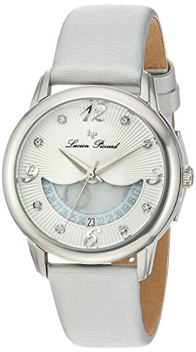 Lucien Piccard Women's Analogue Quartz Watch with Leather Strap LP-40034-02-SSS