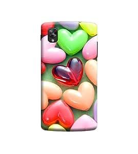 Ebby 3D Printed Back Case Cover For LG Nexus 5 (Premium Designer Case)M055