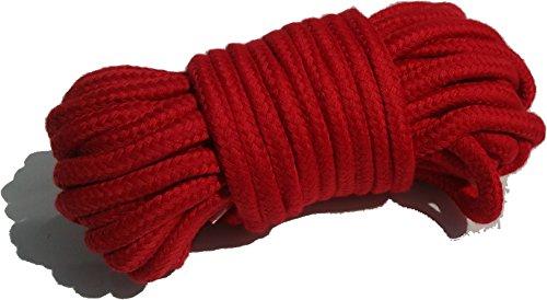 Kostüm Rope Cut The (Rot weich Seil 10Meter Mehrzweck-waschbar von)