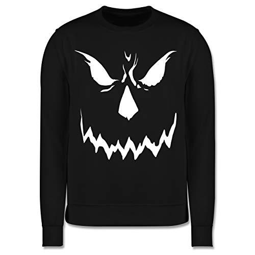 Shirtracer Anlässe Kinder - Scary Smile Halloween Kostüm - 9-11 Jahre (140) - Schwarz - JH030K - Kinder Pullover