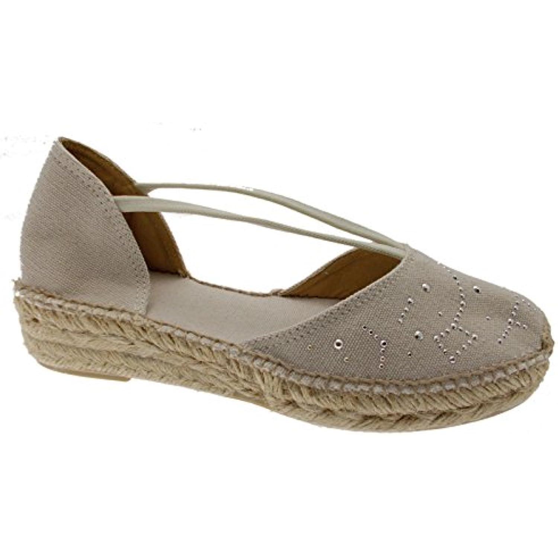 Beige Chaussures Erla À tr Cru EspadrillesB07crpgvbv ZPXOkiu