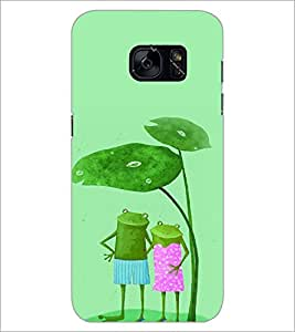 PrintDhaba Funny Image D-4426 Back Case Cover for SAMSUNG GALAXY S7 (Multi-Coloured)