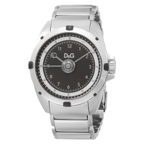 D&G Dolce&Gabbana Men's Analogue Quartz Watch with Stainless Steel Strap DW0608