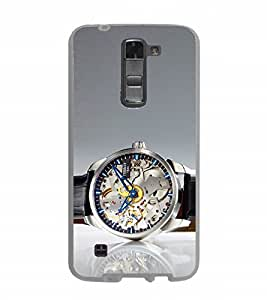 Fuson Designer Back Case Cover for LG G2 Stylus (watch time seconds date modern watch)