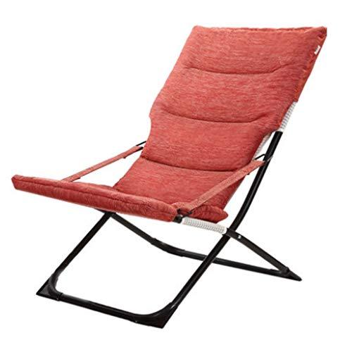Fauteuils inclinables Chaise Longue Pliante Chaise Longue Pour Le Déjeuner Chaise Pour La Maison Balcon Chaise Siesta Chaise Facile Chaise De Jardin Pour La Pêche En Plein Air Chaise Longue Pour Le Bu