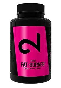 DUAL Pro BRÛLEUR DE GRAISSE | Pilules Fatburner sans sport | Minceur Extrême | Complexe | Brûleur de graisse extremement puissant pour hommes et femmes | Naturel | 100 capsules | Végétalien & sans gluten | SANS caféine