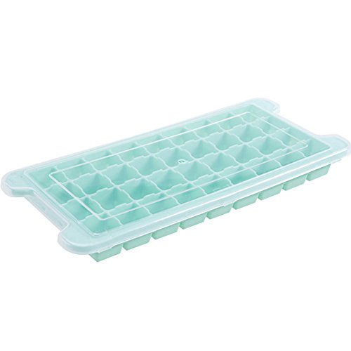 Homemade Frozen Ice Mold Silicone Cover Ice Box Refrigerator Ice Box Creative Household Ice Box Ice Box(Random Color)