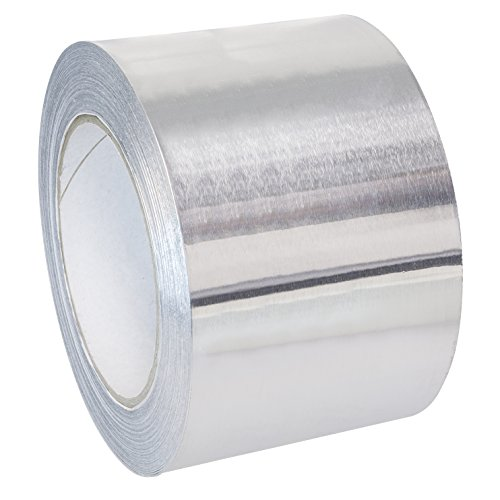 SCAPP Aluminium Klebeband 50 mm breit, 25 m Rolle, 0,1 mm dick - andere Größen (25-300mm) zur Auswahl