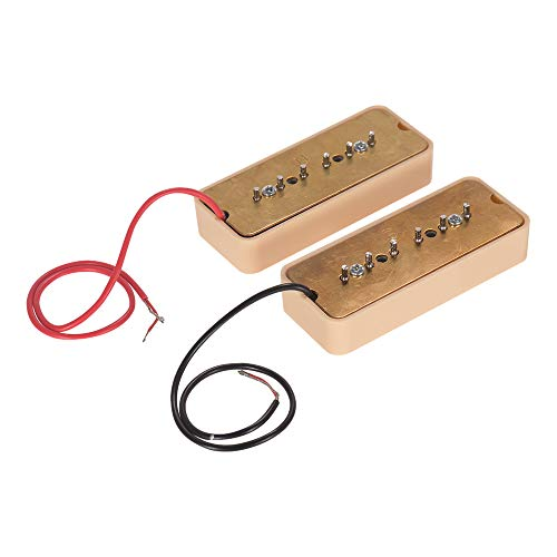 l Pickups für P90 Soapbar E-Gitarre Neck & Bridge Pickups Gitarre Teile Zubehör ()