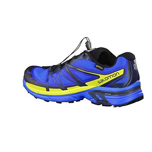 Salomon Wings Pro 2 GTX Chaussures de running jaunebleu