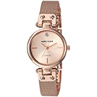 Anne Klein Rose Dial Crystals Ladies Watch 3002RGRG