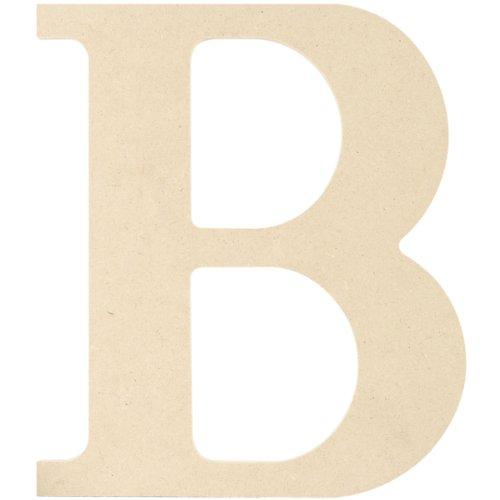 iftart Holz Buchstaben und Zahlen, Maurerkelle, Buchstabe B (Buchstabe B Craft)